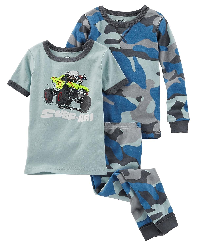 fc5b1fc62c Oshkosh Boys  Monster Truck and Blue Camo 3-Piece Snug Fit Cotton ...