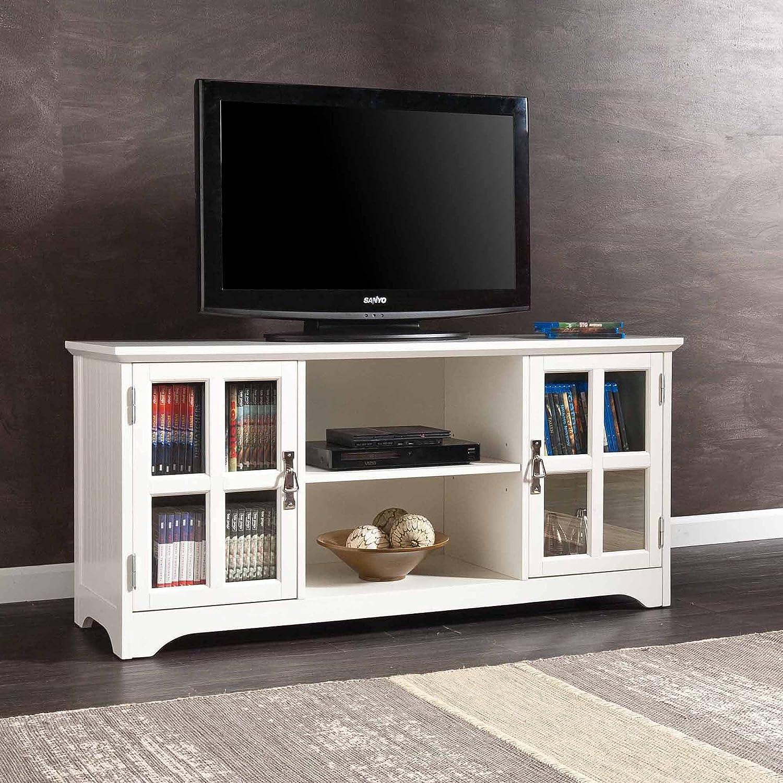 Bearden blanco TV/Media Soporte para televisores de hasta 50