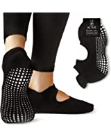 LA Active Grip Socks - Yoga Pilates Barre Ballet Non Slip