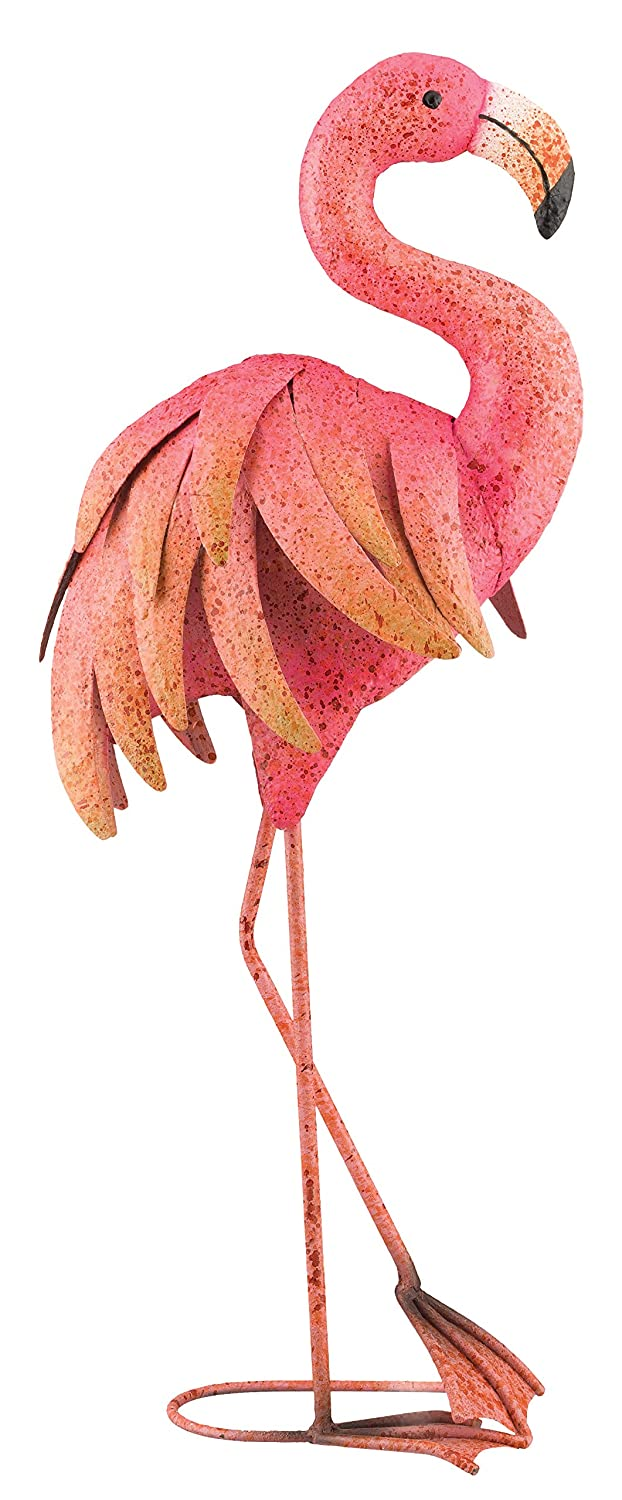 amazon com regal art u0026gift pink flamingo standing art 25 inch