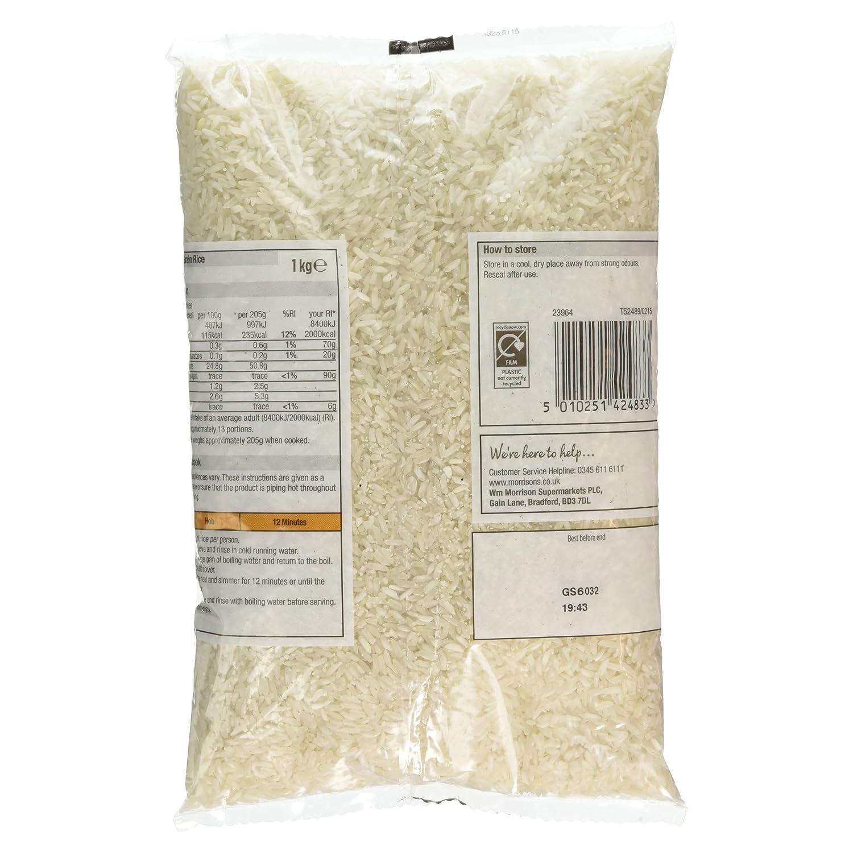 Morrisons Kitchen Appliances Morrisons Savers Long Grain Rice 1kg Amazoncouk Prime Pantry