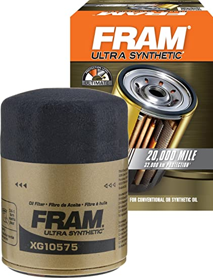 Fram Xg Ultra Synthetic Spin On Oil Filter With Suregrip