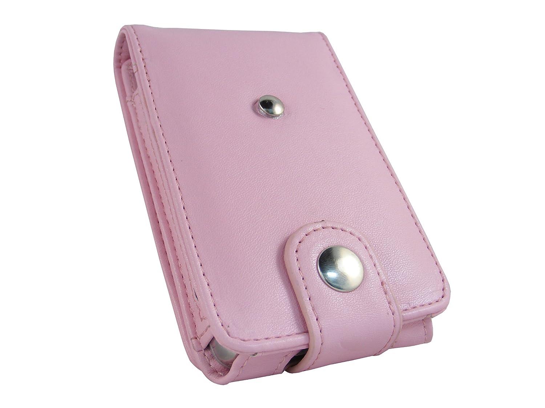 sorti septembre 2009 + clip ceinture amovible igadgitz Etui Poche relevable en Cuir PU protection /écran Housse de couleur Rose pour Apple iPod Classic 80 go gb 120 go gb et le nouveau 160 go gb