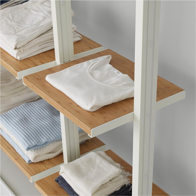 Ikea Elvarli Regal Bambus Amazon De Kuche Haushalt