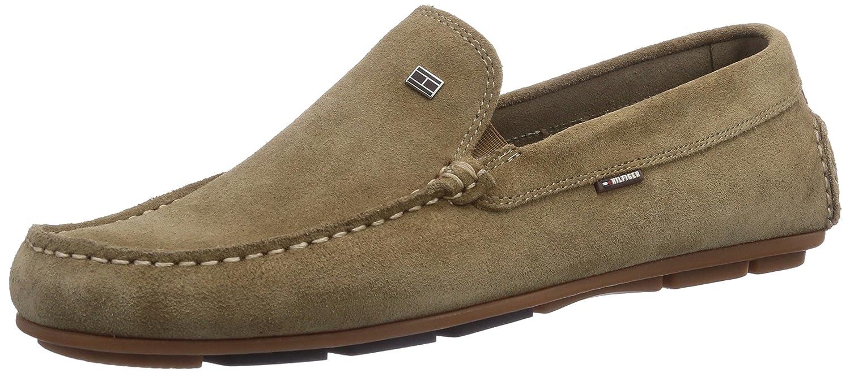 Tommy Hilfiger ALFA HILFIGER 4B - mocasines de cuero hombre, color beige, talla 46: Amazon.es: Zapatos y complementos