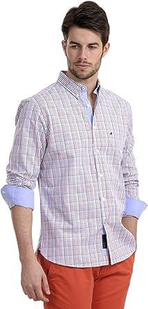 Amichi, Camisa cuadros pequeños - Hombre - Multicolor - Talla ...