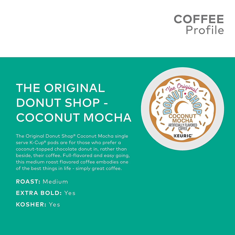 The Original Donut Shop Keurig Single-Serve K-Cup Pods, Medium Roast  Coffee, Pack of 6: Amazon.com: Grocery & Gourmet Food
