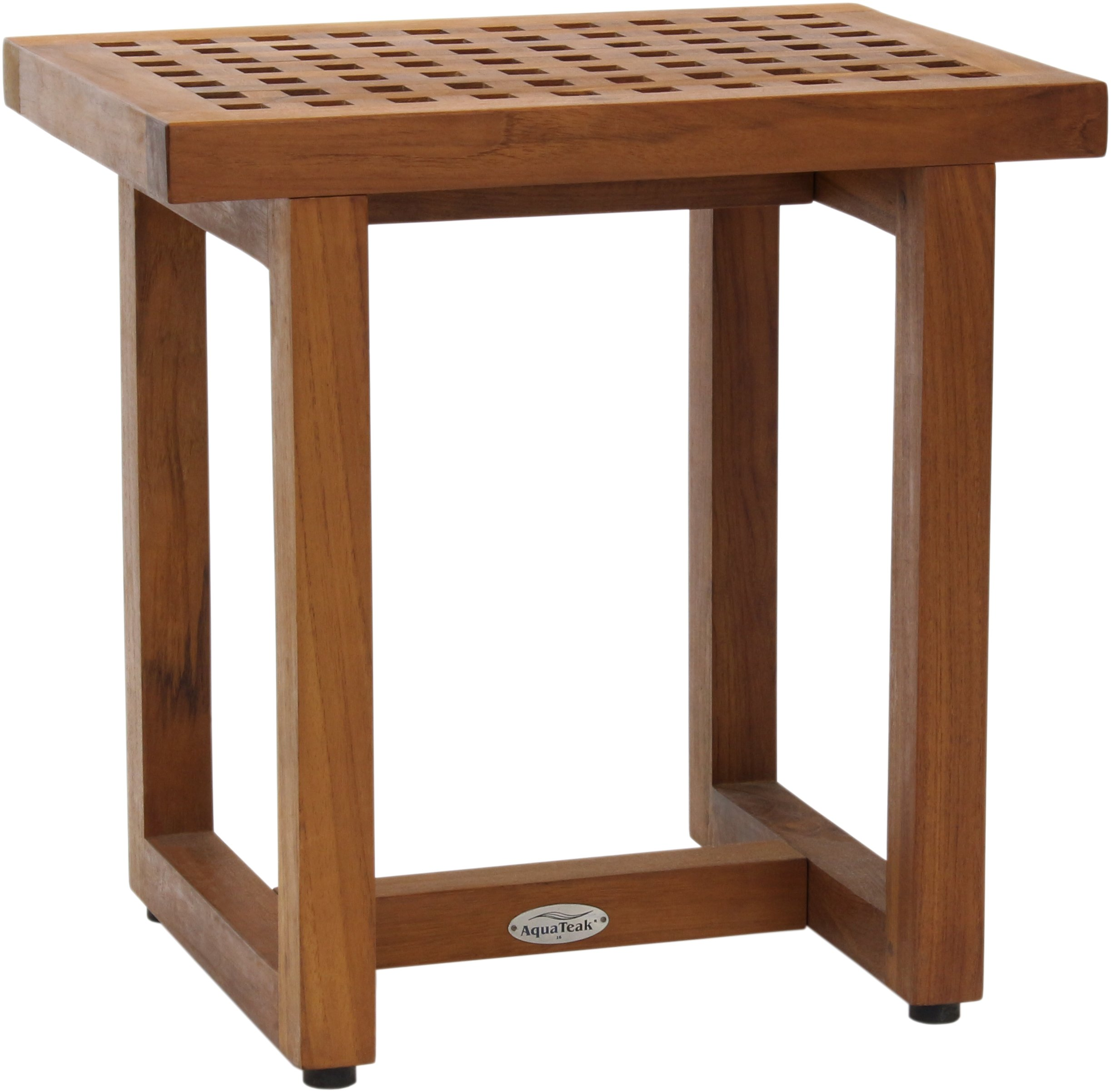 The Original Grate 18'' Teak Shower Bench