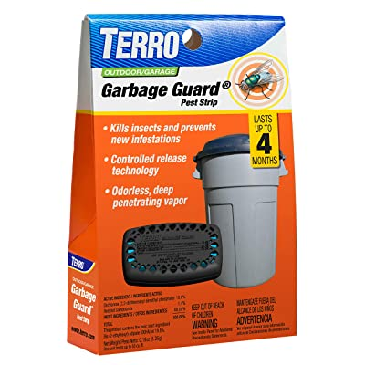 TERRO T800 Garbage Guard – Kills Insects and Prevents New Infestations,Black: Garden & Outdoor