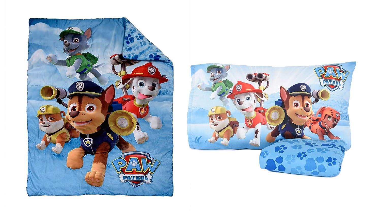Paw Patrol 3 Piece Toddler Bedding Set Nemcor 41510-311-TDST-PAWP