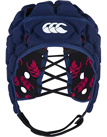 Canterbury Vapodri Raze Flex Chaleco – Casco Protector de Rugby, Unisex, Color Azul Marino