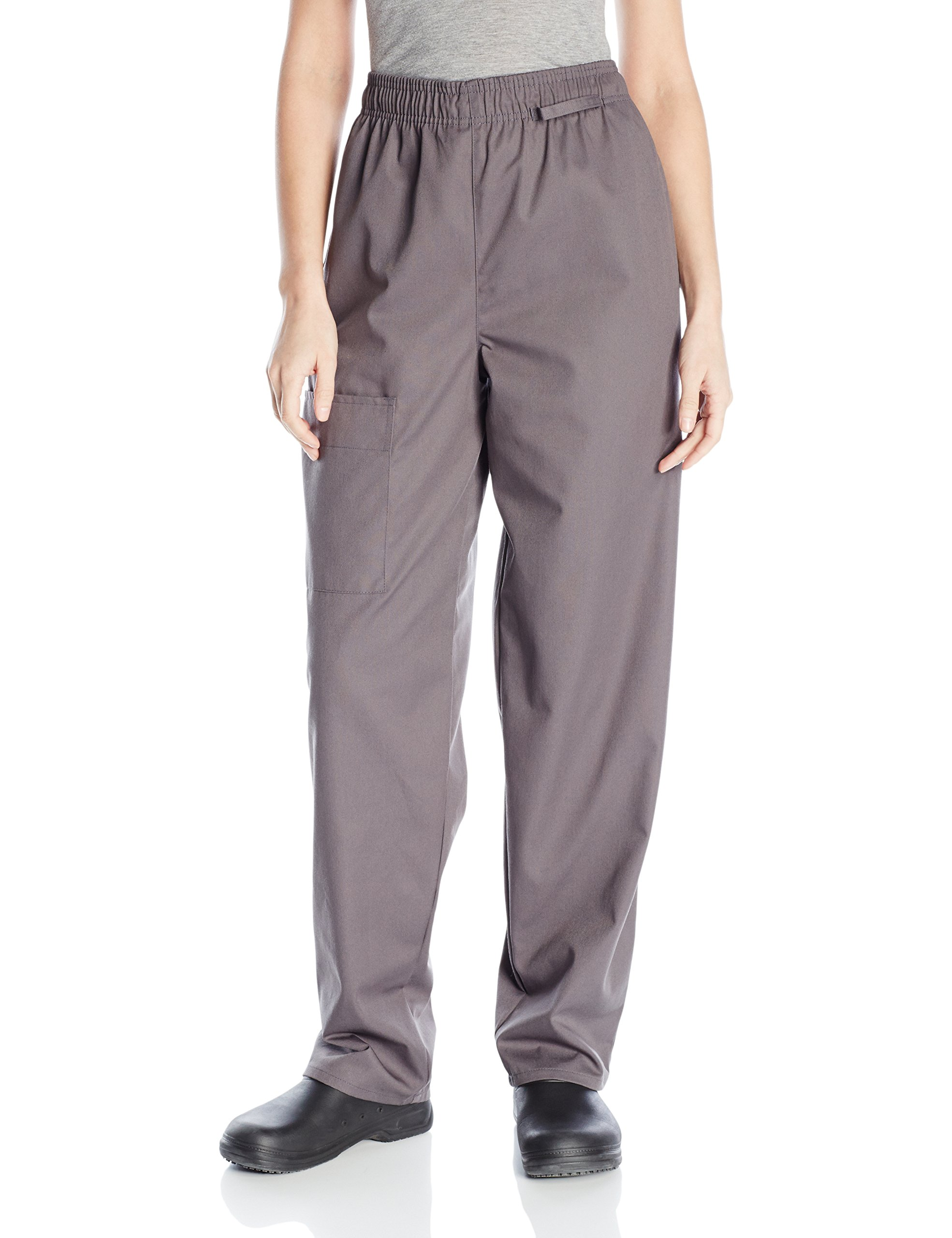 Uncommon Threads Unisex Cargo Chef Pant,Slate,2X-Large by Uncommon Threads