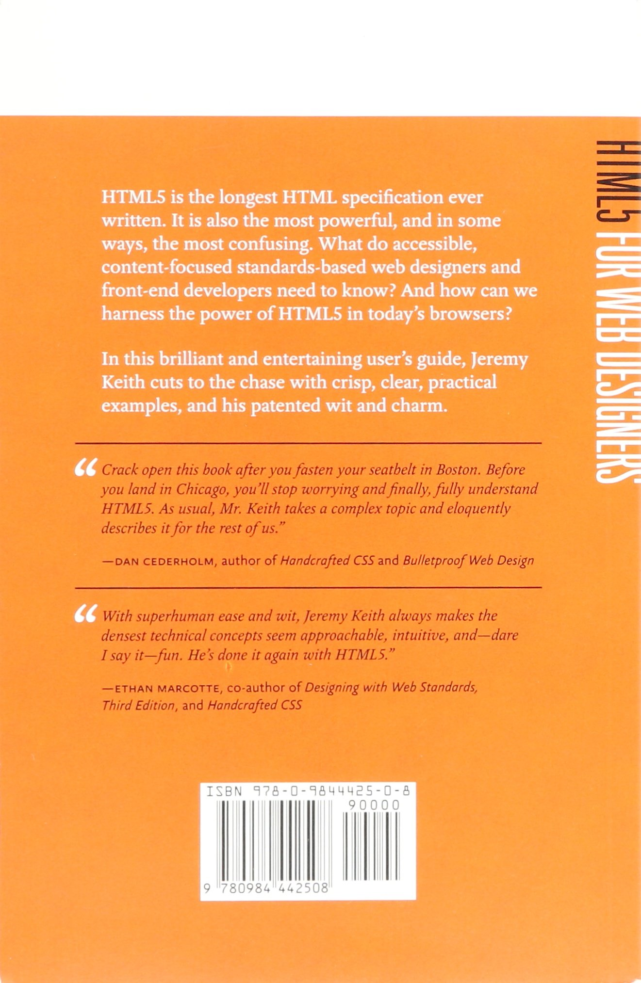 Html5 for web designers jeremy keith 9780984442508 amazon com books