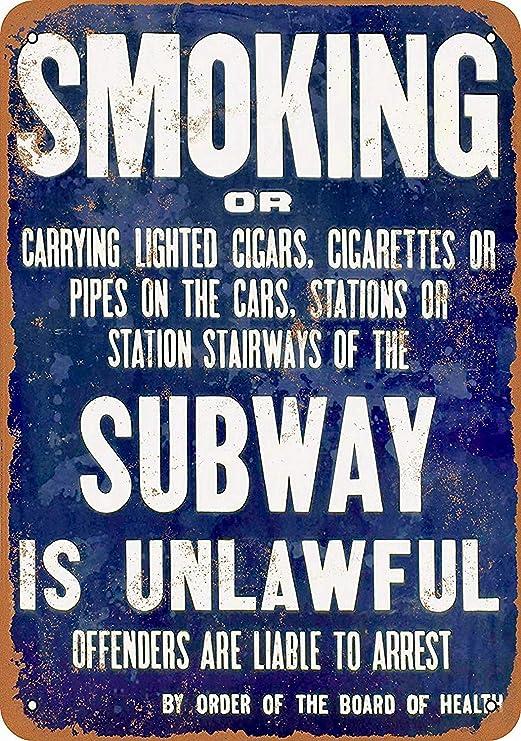 Taco Thursday Smoking In Subway Is Unlawful Pintura de ...