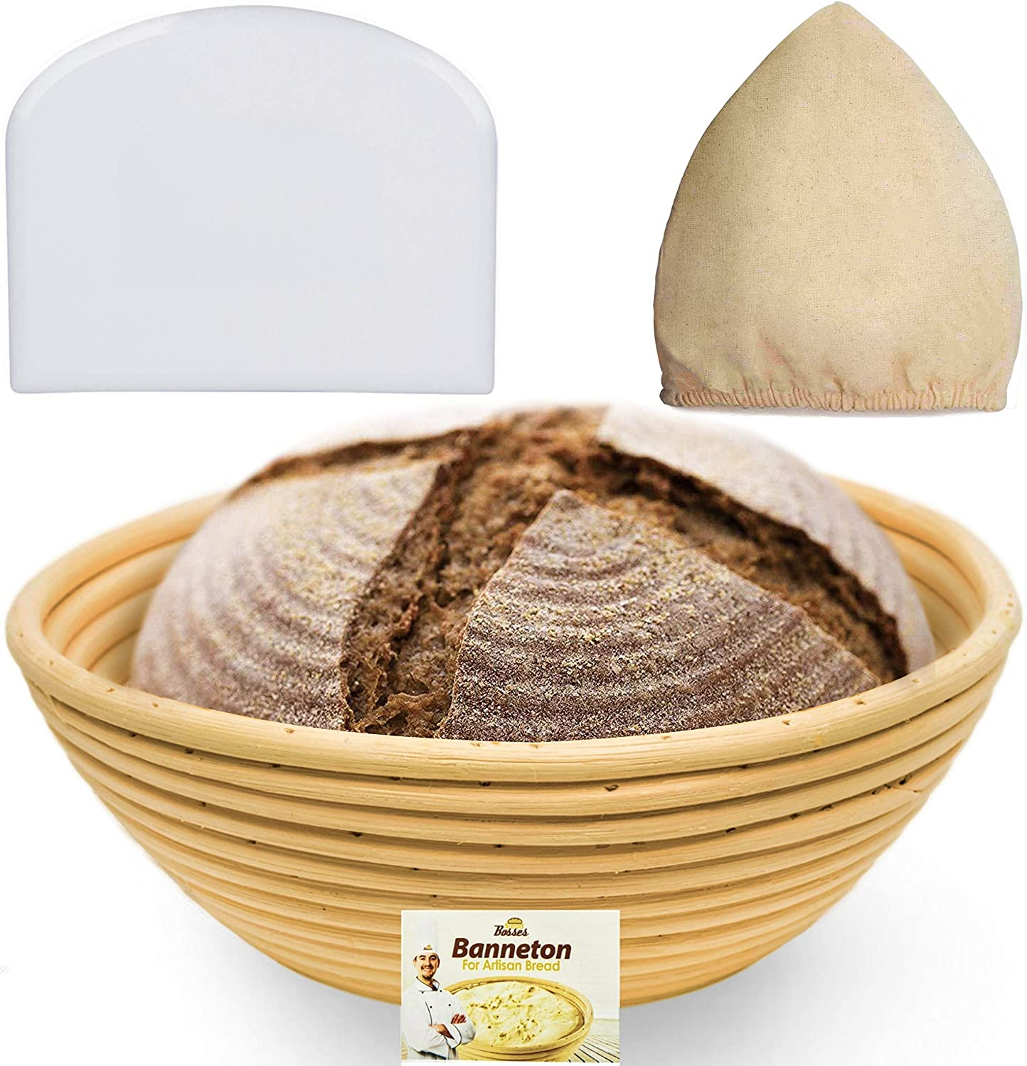BUY this 9-Inch Bread Banneton Proofing Basket