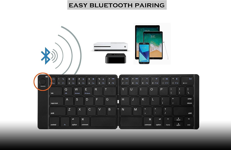 Smartphone Tablet Arkscan KB21 Foldable Wireless Keyboard Mini ...