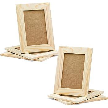 Amazon.com - Plaid Wood Frame with Easel Back, 96286 - Single Frames