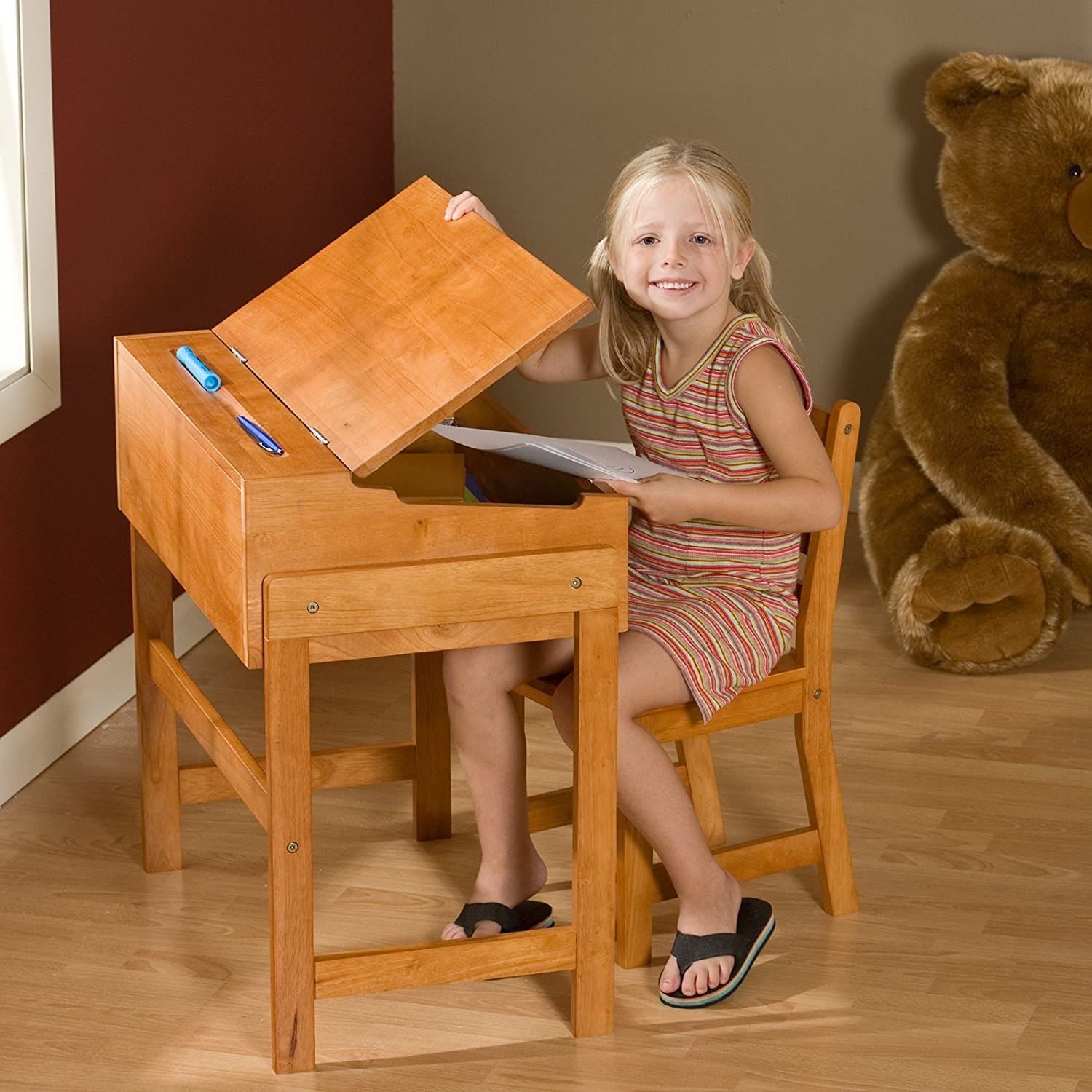 100 children s desk set best choice products height adjusta