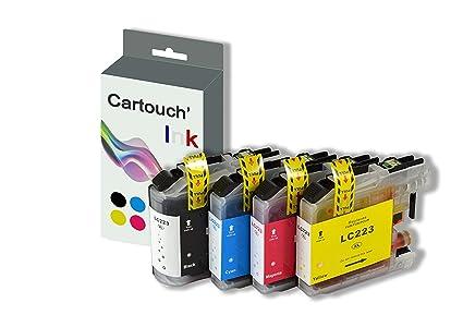 cartouch Ink LC223 Pack 4 cartucho de tinta para impresora ...