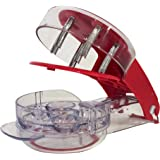 YouTensils Cherry Pitter & Olive Tool - 6 Cherries at Once   Includes Cherry Recipe EBOOK
