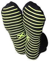 Non Slip Skid Socks with Grips, For Hospital Rehab, Yoga, Pilates, Barre, 1 & 2 Pairs Set