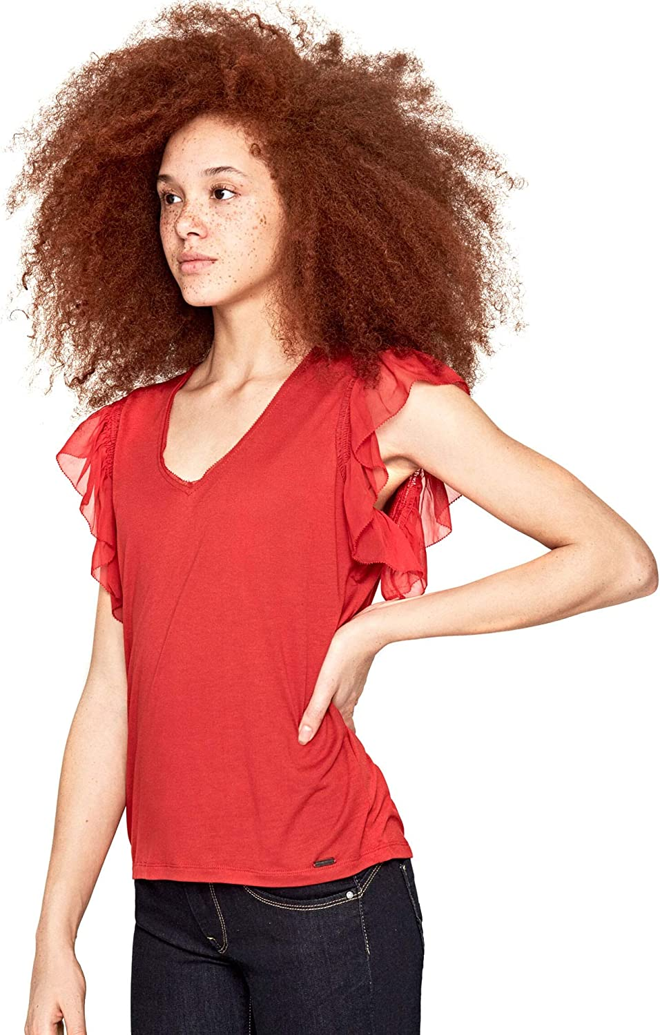 Pepe Jeans Top Auteuil Rojo Mujer