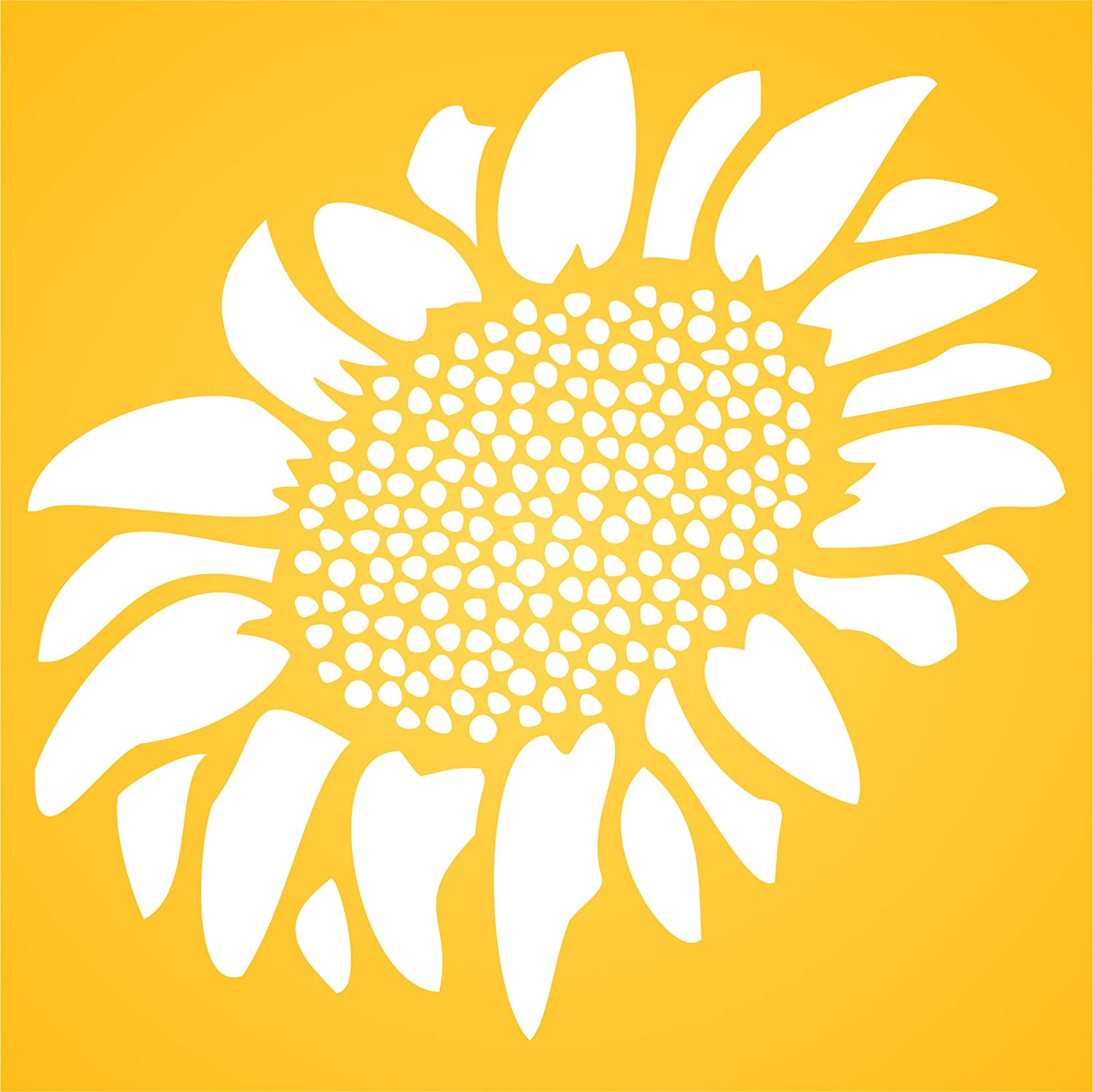 Amazon.com: Sunflower Stencil - (size 3.25\