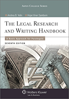 Concise guide to paralegal ethics aspen college series kindle legal research and writing handbook a basic approach for paralegals aspen college series fandeluxe Gallery
