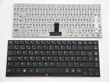 AZERTY - Teclado francés para Toshiba Portégé R835-P50X R835-P56X R835-P81 R835-P84 R930-116