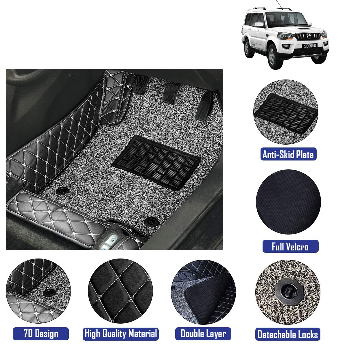 Hyundai i20 2015-2019 Genuine Full Set Of Floor Mats