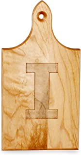 product image for J.K. Adams Q-Tee Cut-Up Sugar Maple Wood Cutting Board, 7-1/2-inches by 4-inches, Alphabet Series, I