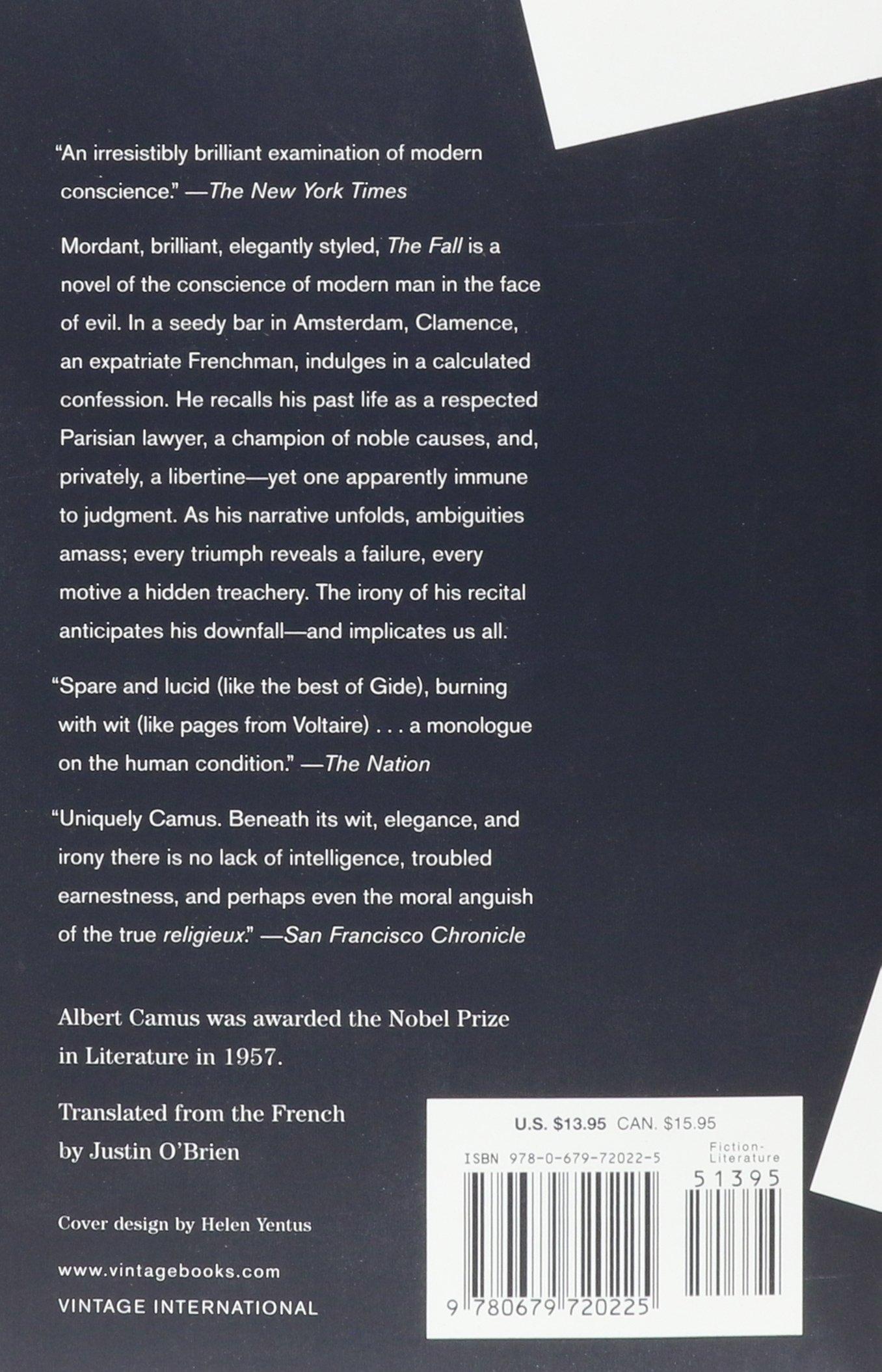 an examination of the novel the stranger by albert camus