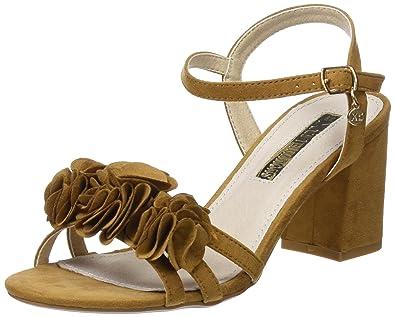 30714, Sandales Bride Cheville Femme, Marron (Camel), 40 EUXti