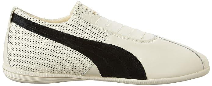 Wos Chaussures Puma Eskiva Bas, Murmure Blanc-noir, Us 8
