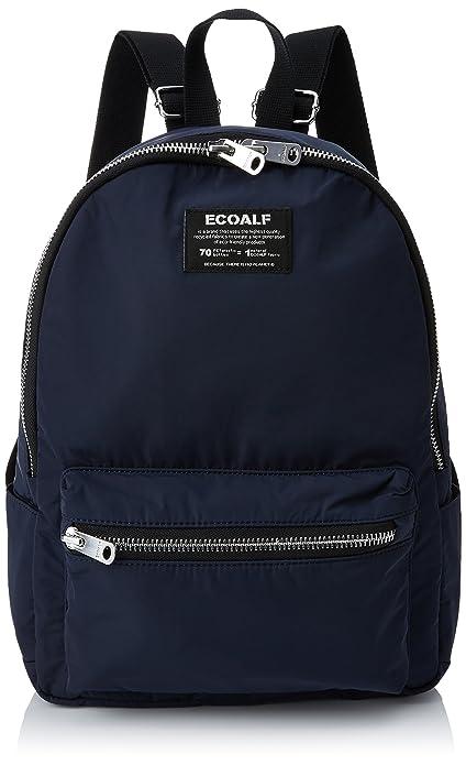 ECOALF Oslo Backpack, Mochila Unisex Adulto, Azul (Deep Navy) 12x38x18.00