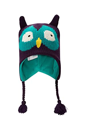 85d8223527f Mountain Warehouse Owl Kids Cap - Childrens Hat Purple  Amazon.ca  Sports    Outdoors