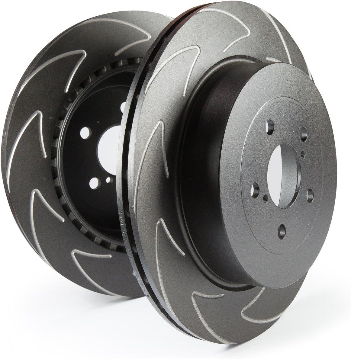 EBC Brakes USR7503 USR Series Sport Slotted Rotor