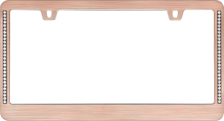 Cruiser Accessories 15530 Neo Diamondesque License Plate Frame Chrome