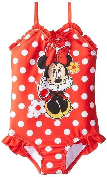 Amazon.com: Minnie Mouse Little Girls Minnie 1 pieza traje ...