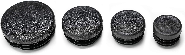 Enkotrade 10 St/ück Lamellenstopfen Rund /Ø 18mm Rohrabdeckung aus hochwertigem Polyethylen Kunststoff Rohrstopfen Endstopfen Kappen Stopfen