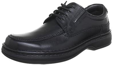 11-17102-01 Ara - Chaussures À Lacets En Cuir Pour Les Hommes, Couleur Noire, Taille 44