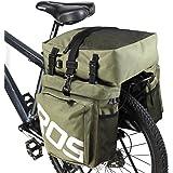 ROSWHEEL 自転車サイドバッグ 多機能リアバッグ 収納力抜群リアサイドバッグ