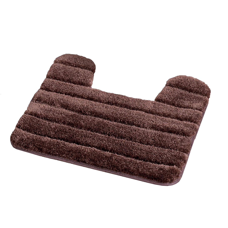 0353262800 Baltic Linen Luxury Nylon 3-Piece Bath Rug 3-Piece Set: Plum, Bath Mat 20 x 30, Contour Rug 20 x 20, Universal Toilet Set Lid Cover 18 x 18