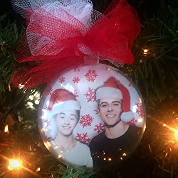 Amazon.com: Jack Gilinsky & Jack Johnson Holiday Ornament: Home ...