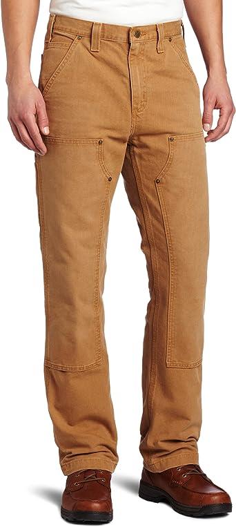 Carhartt Homme Pantalon Double Front Dungaree Jeans Bergschuhe tailles w28 à w42