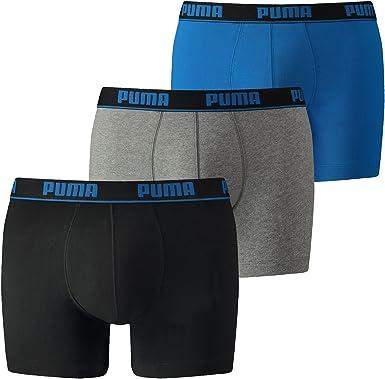 PUMA Boxer (Lot de 3) Homme: : Vêtements et accessoires