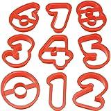 貝印 クッキー抜き型 3個セット 数字 Kai House Select DL-6406