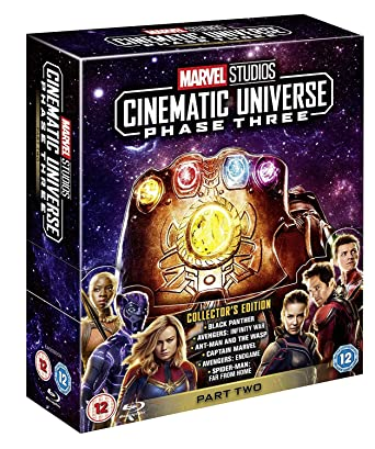 Marvel Cinematic Universe Phase 3.2 Italia Blu-ray: Amazon.es ...