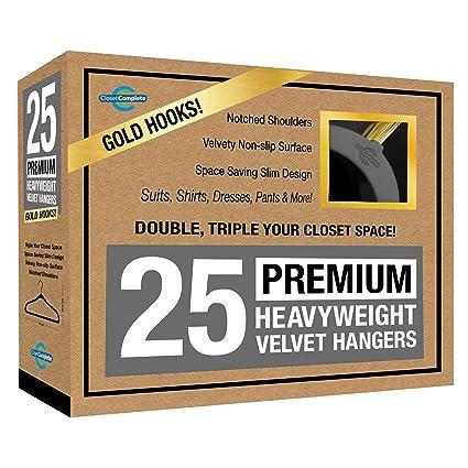 Closet Complete Premium Quality, True Heavyweight, 80 Gram,  Virtually UNBREAKABLE