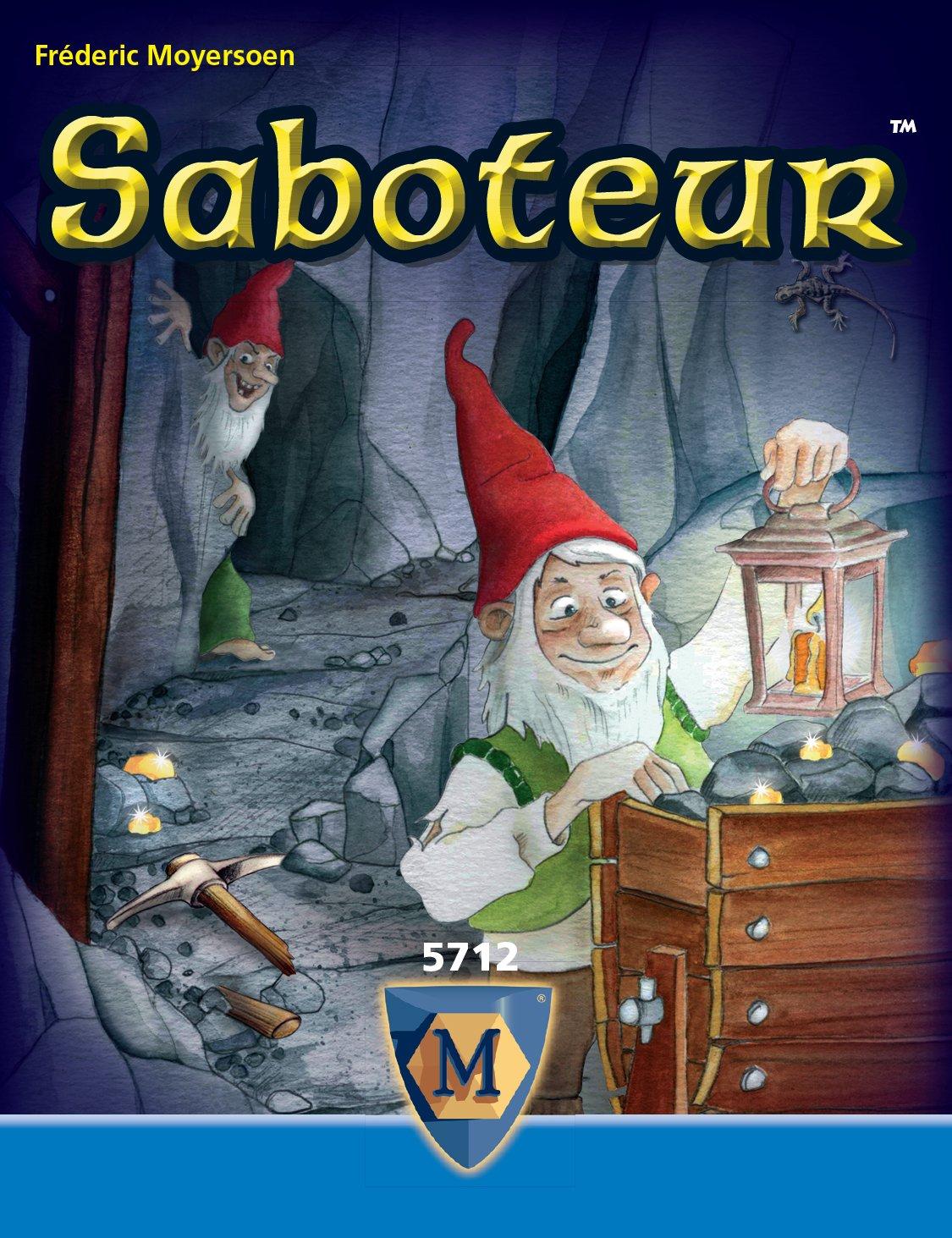 Mayfair Games Saboteur-Bluffing/Social Deduction Game Flat River Group ASI5712